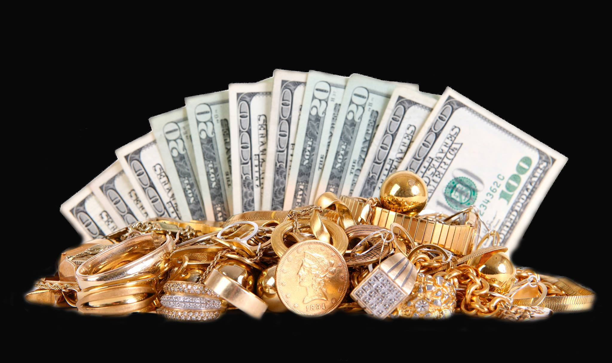 Cash you can receive for jewelry pawn in Kansas City
