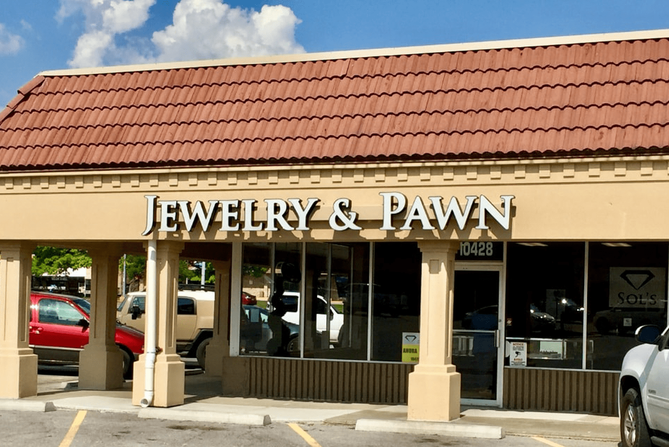 A picture of our pawn shop in Overland Park